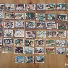 Coleccionismo deportivo: GALLINA BLANCA 2 1949 LOTE DE 63 CROMOS DEPORTES. Lote 100505631