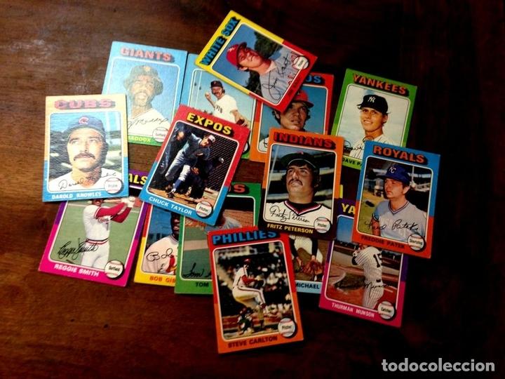 Coleccionismo deportivo: COLECCIÓN DE 44 CARTAS DE LA LIGA DE BÉISBOL AMERICANA. CARTÓN. U.S.A. 1975. - Foto 2 - 101361951