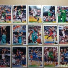 Coleccionismo deportivo: LOTE CROMOS (CARD) NBA 92-93 UPPER DECK.EDITADAS POR UPPER DECK 1992 1993. Lote 101658283
