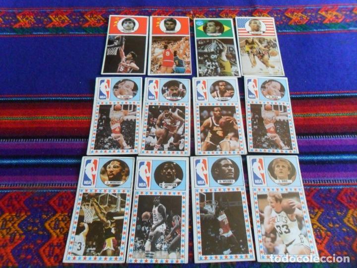 LOTE 252 CROMO SIN PEGAR NUEVO BALONCESTO 1986 1987. J MERCHANTE. NBA. SUELTOS. AMPLIADO 30-10-17 (Coleccionismo Deportivo - Cromos otros Deportes)
