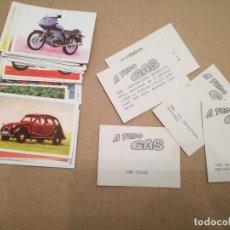 Coleccionismo deportivo: 26 CROMOS A TODO GAS, EDITORIAL MAGA 1982, MUY NUEVOS, DE SOBRE.. Lote 103543587