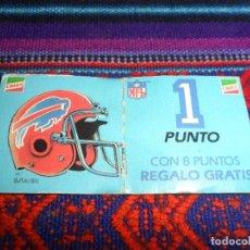 Coleccionismo deportivo: LAS ESTRELLAS DEL FÚTBOL AMERICANO, BUFFALO. NFL. CRECS AÑOS 80. RARO.. Lote 104040475