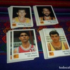 Coleccionismo deportivo: LOTE 127 CROMOS SIN PEGAR MUY BUEN ESTADO PANINI BASKET 90 LIGA ACB. TAMBIÉN SUELTOS.. Lote 104175871