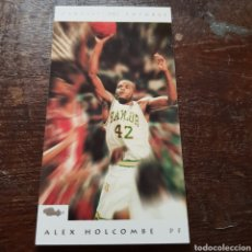 Coleccionismo deportivo: TRADING CARD NBA CLASSIC FUTURES ALEX HOLCOMBE N° 96 CLASSIC GAMES. Lote 104279382