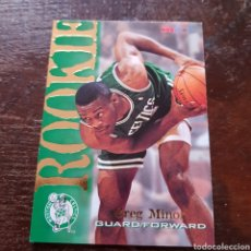 Coleccionismo deportivo: TRADING CARD ROOKIE GREG MINER N° 307 94-95 NBA HOOPS. Lote 104279942
