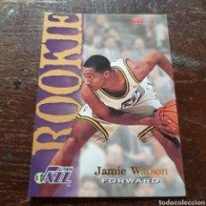 Coleccionismo deportivo: TRADING CARD ROOKIE JAMIE WATSON N° 377 94-95 NBA HOOPS. Lote 104280460