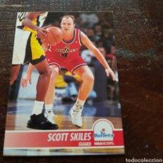 Coleccionismo deportivo: TRADING CARD SCOTT SKILES N° 380 94-95 NBA HOOPS. Lote 104280544