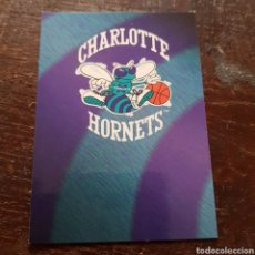 Coleccionismo deportivo: TRADING CARD CHARLOTTE HORNETS LOGO N° 393 94-95 NBA HOOPS. Lote 104280692