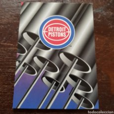 Coleccionismo deportivo: TRADING CARD DETROIT PISTONS LOGO N° 398 94-95 NBA HOOPS. Lote 104280744