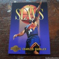 Coleccionismo deportivo: TRADING CARD NBA SKY SLAMS CHARLES BARKLEY N° 302 94-95 SKYBOX. Lote 104281347