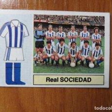 Coleccionismo deportivo: LOTE 2 CROMOS REAL SOCIEDAD - LIGA 88-83. Lote 104323207