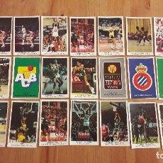 Coleccionismo deportivo: CONVERSE 1988 LOTE DE 27 CROMOS . Lote 104972719