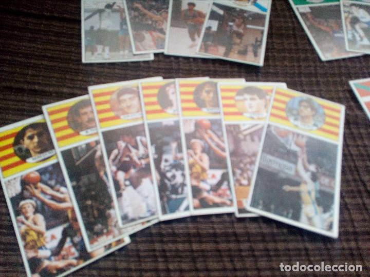 Coleccionismo deportivo: lote cromos del album CAMPEONATO DE LIGA BALONCESTO 1986-1987 MERCHANTE converse mac gregor cromo - Foto 2 - 105152671