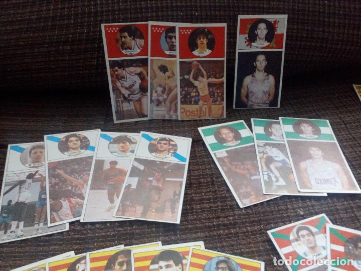 Coleccionismo deportivo: lote cromos del album CAMPEONATO DE LIGA BALONCESTO 1986-1987 MERCHANTE converse mac gregor cromo - Foto 3 - 105152671