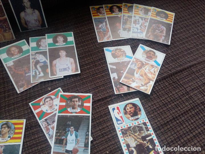Coleccionismo deportivo: lote cromos del album CAMPEONATO DE LIGA BALONCESTO 1986-1987 MERCHANTE converse mac gregor cromo - Foto 4 - 105152671