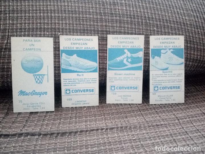 Coleccionismo deportivo: lote cromos del album CAMPEONATO DE LIGA BALONCESTO 1986-1987 MERCHANTE converse mac gregor cromo - Foto 5 - 105152671