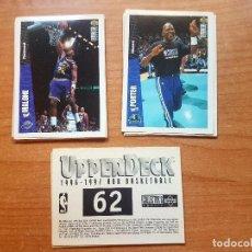 Coleccionismo deportivo: LOTE 1996-1997 NBA BASKETBALL - UPPER DECK. Lote 107502879