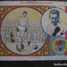 Coleccionismo deportivo: BOXEO - CROMO COLECCION BOXEADORES - CARPENTIER - VER FOTOS - (V-13.008). Lote 107584607