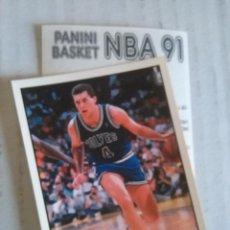Coleccionismo deportivo: NBA CROMO PARA ALBUM - ADHESIVO PEGATINA BALONCESTO BASKET PANINI 91 - 1991 - JUGADOR. Lote 107650055