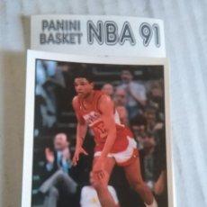 Coleccionismo deportivo: NBA CROMO PARA ALBUM - ADHESIVO PEGATINA BALONCESTO BASKET PANINI 91 - 1991 - JUGADOR. Lote 107650071