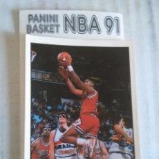 Coleccionismo deportivo: NBA CROMO PARA ALBUM - ADHESIVO PEGATINA BALONCESTO BASKET PANINI 91 - 1991 - JUGADOR. Lote 107650239