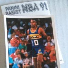 Coleccionismo deportivo: NBA CROMO PARA ALBUM - ADHESIVO PEGATINA BALONCESTO BASKET PANINI 91 - 1991 - JUGADOR. Lote 107650251