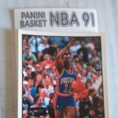 Coleccionismo deportivo: NBA CROMO PARA ALBUM - ADHESIVO PEGATINA BALONCESTO BASKET PANINI 91 - 1991 - JUGADOR. Lote 107650255