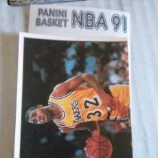 Coleccionismo deportivo: NBA CROMO PARA ALBUM - ADHESIVO PEGATINA BALONCESTO BASKET PANINI 91 - 1991 - JUGADOR. Lote 107650267