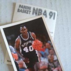 Coleccionismo deportivo: NBA CROMO PARA ALBUM - ADHESIVO PEGATINA BALONCESTO BASKET PANINI 91 - 1991 - JUGADOR. Lote 107650327