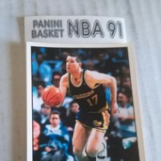 Coleccionismo deportivo: NBA CROMO PARA ALBUM - ADHESIVO PEGATINA BALONCESTO BASKET PANINI 91 - 1991 - JUGADOR. Lote 107650343
