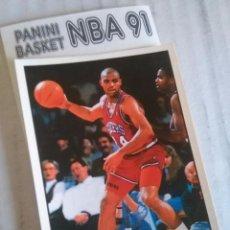 Coleccionismo deportivo: NBA CROMO PARA ALBUM - ADHESIVO PEGATINA BALONCESTO BASKET PANINI 91 - 1991 - JUGADOR. Lote 107650459