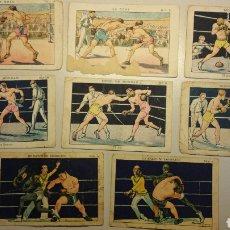 Coleccionismo deportivo: LOTE DE CROMOS BOXEO AÑOS 20. Lote 107653266
