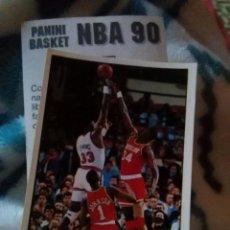 Coleccionismo deportivo: NBA CROMO PARA ALBUM - ADHESIVO PEGATINA BALONCESTO BASKET PANINI 90 - 1990 - JUGADOR. Lote 107743899