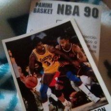 Coleccionismo deportivo: NBA CROMO PARA ALBUM - ADHESIVO PEGATINA BALONCESTO BASKET PANINI 90 - 1990 - JUGADOR. Lote 107755487