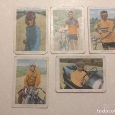Coleccionismo deportivo: COLECCIONES AMATLLER (AUTOMOBILISMO, CICLISMO, MOTOCICLISMO) - CHOCOLATES AMATLLER. Lote 108357955