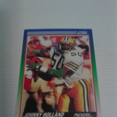 Coleccionismo deportivo: CROMO NFL 1990 JOHNNY HOLLAND (PACKERS).. Lote 109167799
