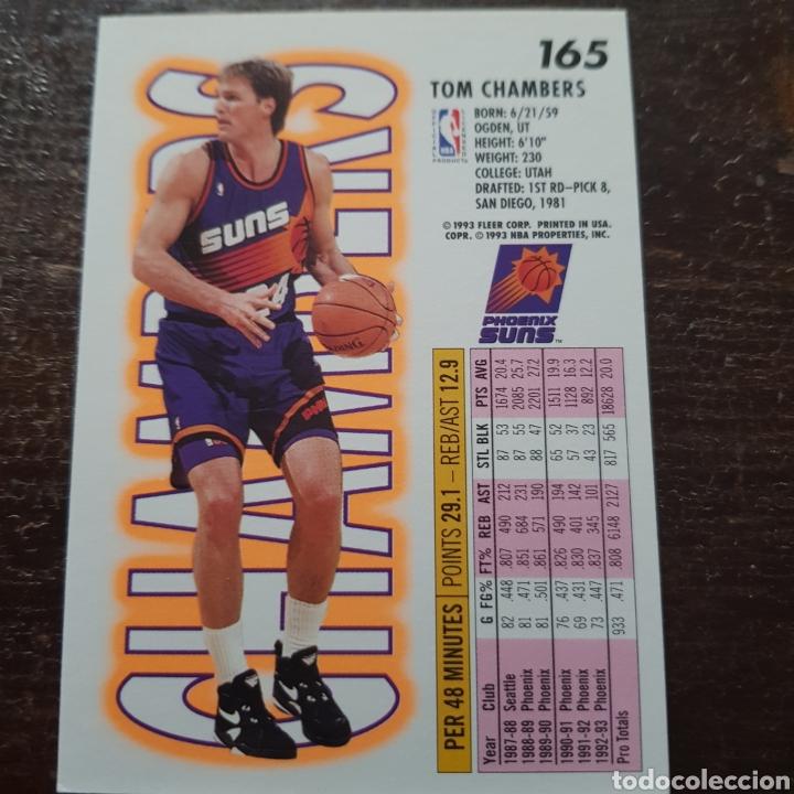 Coleccionismo Deportivo Trading Card NBA TOM CHAMBERS N 165 Fleer 93 94