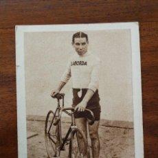 Coleccionismo deportivo: MIGUEL BOVER ( CAMPEON DE ESPAÑA DE CICLISMO ) MOMENTOS ESTELARES DEL DEPORTE ESPAÑOL KOLA ASTIER. Lote 114241539