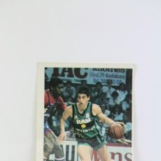 Coleccionismo deportivo: CROMO DE BASKET / BALONCESTO - JORDI VILLACAMPA / RAM JOVENTUT Nº 118 - BOLLYCAO BASKET CROMOS 88-89. Lote 114263483