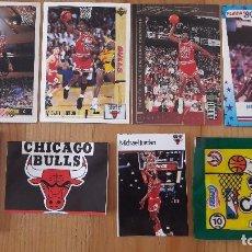 Coleccionismo deportivo: MICHAEL JORDAN 1986 SUPER CANASTA NUEVO MAS CARTAS ADICIONALES MAS SOBRE ABIERTO. Lote 114780103
