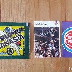 Coleccionismo deportivo: ISIAH TOMAS SUPER CANASTA 1986 MAS REGALO NUEVO. Lote 114782175