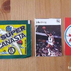 Coleccionismo deportivo: JULIUS ERVING SUPER CANASTA 1986 MAS REGALO NUEVO. Lote 114782283