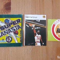 Coleccionismo deportivo: RALPH SAMPSON SUPER CANASTA 1986 MAS REGALO NUEVO. Lote 114782367