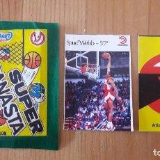 Coleccionismo deportivo: SPUD WEBB SUPER CANASTA 1986 MAS REGALO .NUEVO. Lote 114782679
