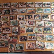 Coleccionismo deportivo: 1945 LOTE DE CROMOS DE DEPORTES VARIOS COLECCION GALLINA BLANCA . Lote 114899011