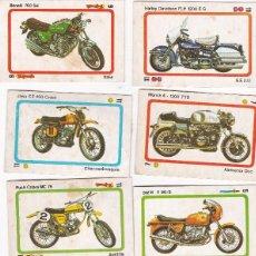 Coleccionismo deportivo: 9761 - 10 CROMOS DESPEGADOS TELE MOTOR -MOTOS EDITORIAL ESTE. Lote 115599795