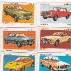 Coleccionismo deportivo: 9762 - 9 CROMOS DESPEGADOS TELE MOTOR -COCHES EDITORIAL ESTE. Lote 115599983