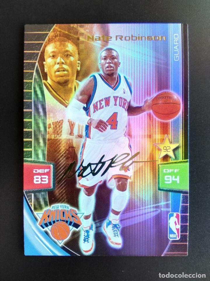 the best attitude 21000 f9dd3 NATE ROBINSON NEW YORK KNICKS EXTRA SIGNATURE PANINI ADRENALYN 2009 2010 -  09 10 NBA CARD