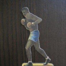 Coleccionismo deportivo: CROMO TROQUELADO BOXEO CHOCOLATES BOIX-BARCELONA-NUM 18 17 WILLS UZCUDUN -VER FOTOS - (V-13.908). Lote 116116531