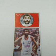 Coleccionismo deportivo: ANTIGUO CROMO DE BALONCESTO, BASKET AÑOS 80 CONVERSE, MACGREGOR REAL MADRID: RAFAEL RULLAN (Nº 126). Lote 116289223